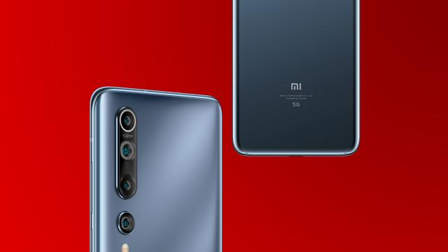 Xiaomi Mi 10-Smartphone in Schwarz