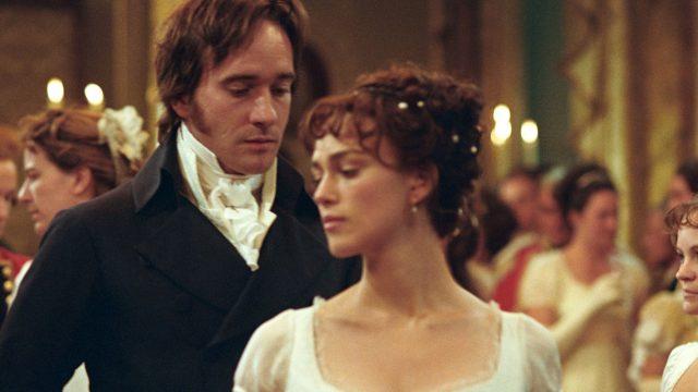 """Szene aus dem Jane-Austen-Film """"Stolz und Vorurteil""""."""