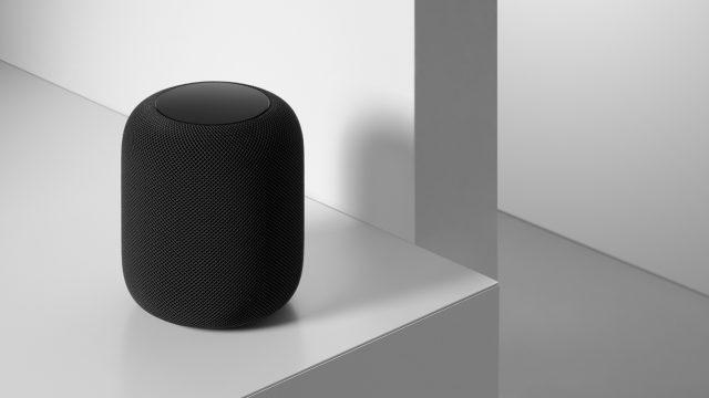 HomePod in schwarzer Farbe