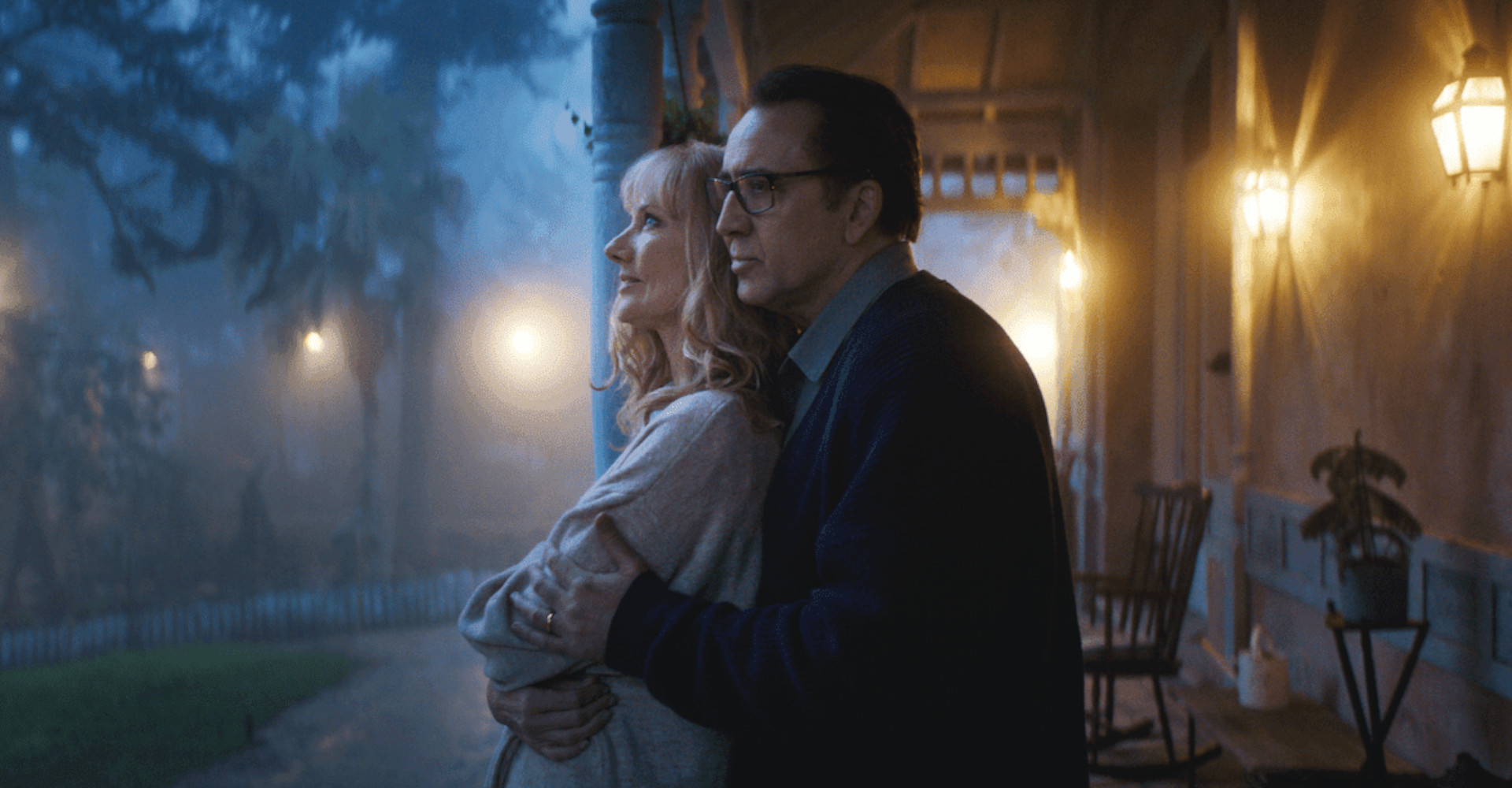 Nicola Cage und Joely Richardson in Color out of Space