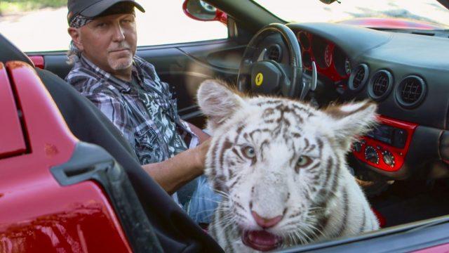 """Produktionfoto von Netflix' """"Tiger King""""."""