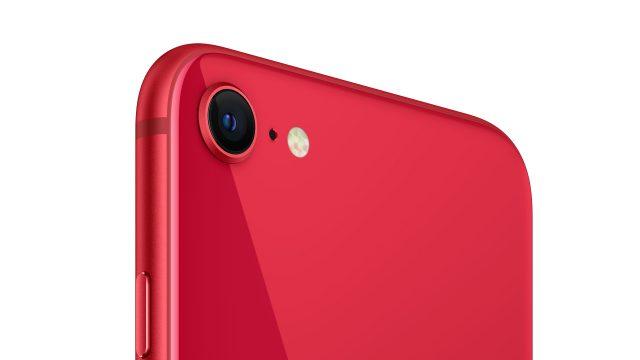 Das iPhone SE in rot