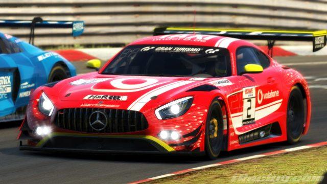 Der GetSpeed-Mercedes bei der Nürburgring Langstrecken-Serie 2020
