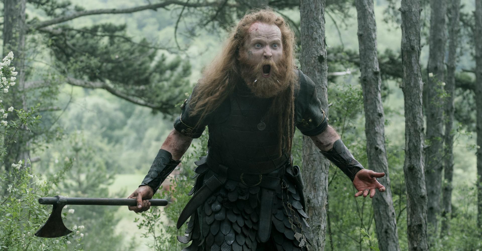 Magnus Bruun in The Last Kingdom