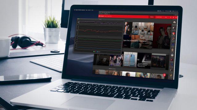 MacBook zeigt Signalstärke der aktuellen WLAN-Verbindung an