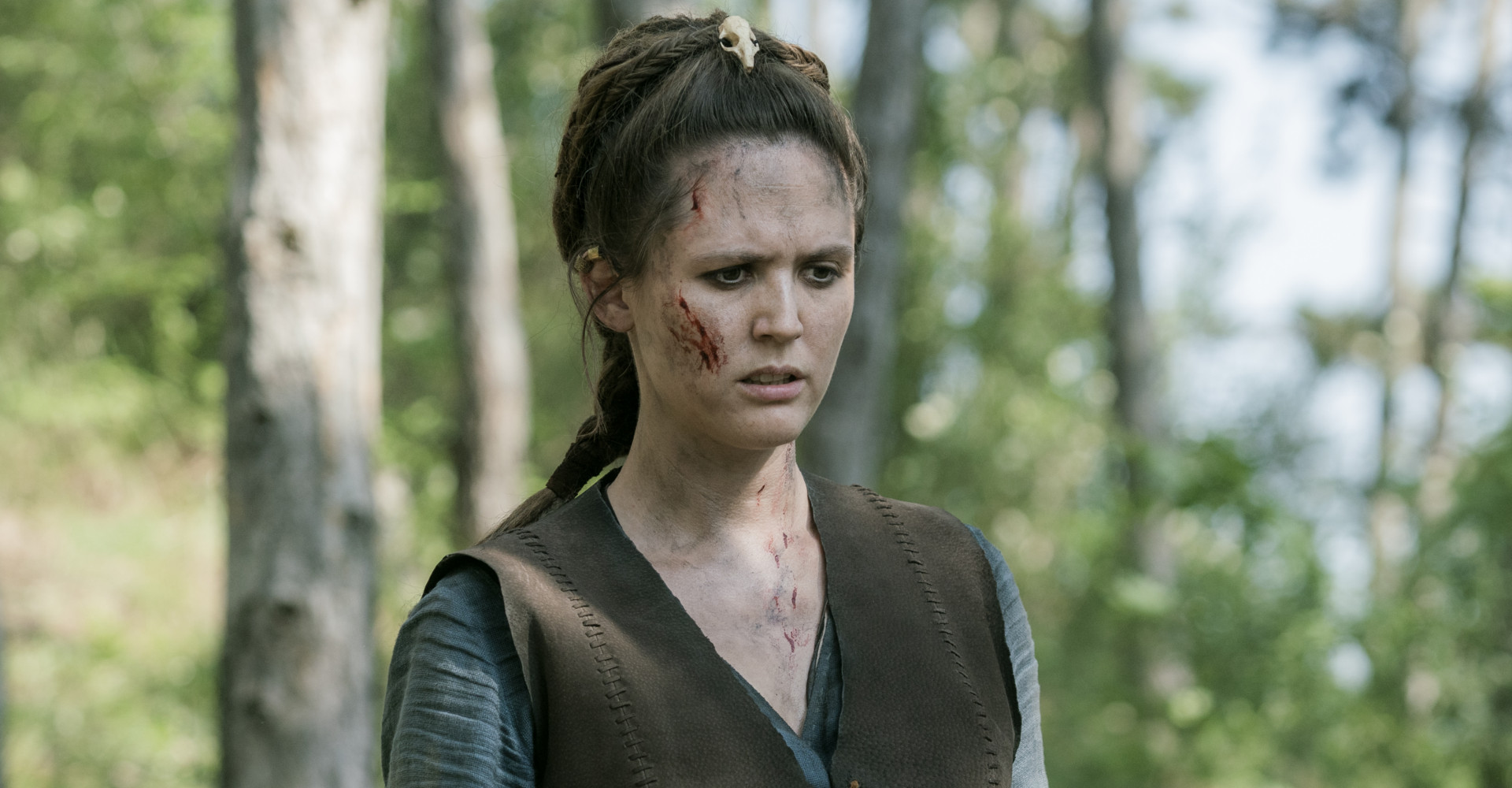 Emily Cox in The Last Kingdom