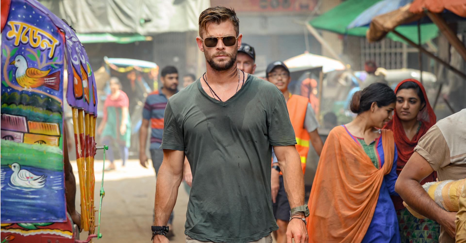 Chris Hemsworth in Tyler Rake: Extraction