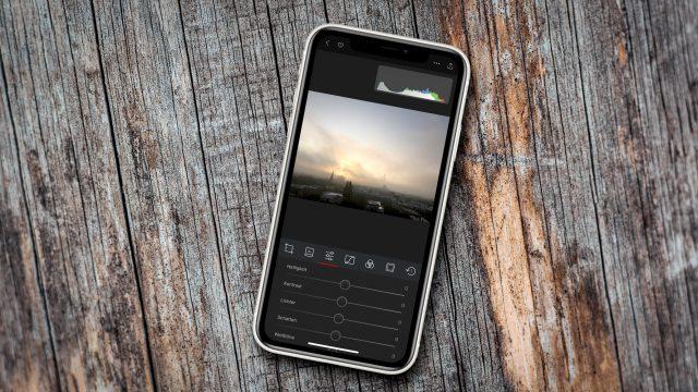 Darkroom auf dem iPhone
