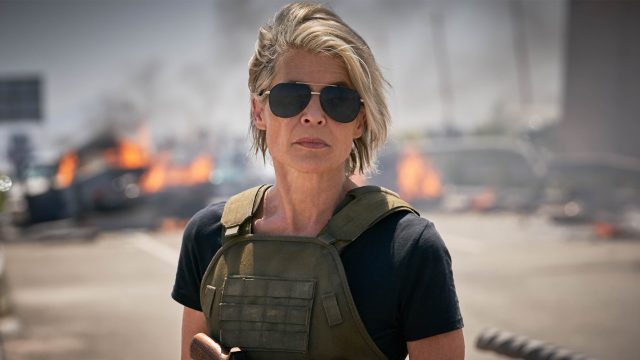 Linda Hamilton als Sarah Connor in Terminator Dark Fate