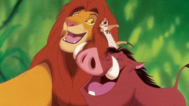 """Disney-Zeichntrickklassiker """"Der König der Löwen"""""""
