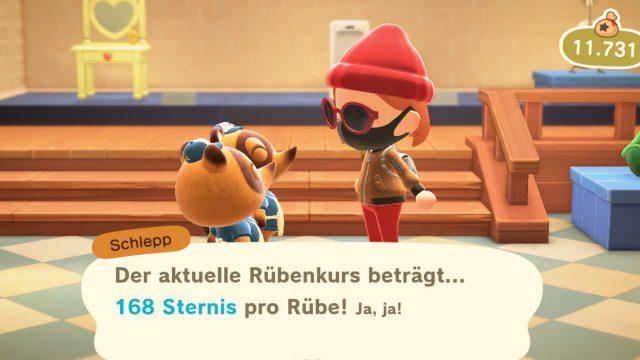 Rübenpreise in Animal Crossing: New Horizons erfragen