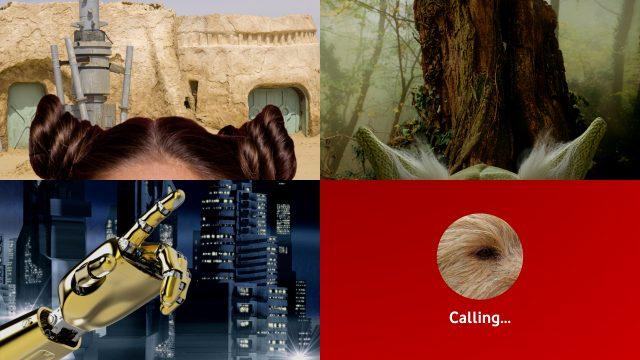 Leia, C3PO, Chewbacca und Yoda an May the 4th