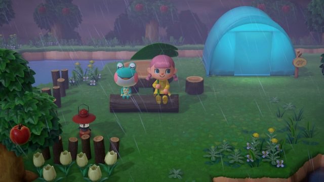 Frosch Liliane in Animal Crossing: New Horizons