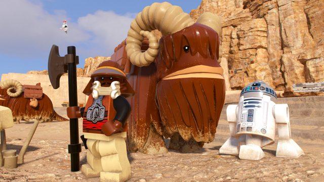 Szene aus LEGO Star Wars The Skywalker Saga