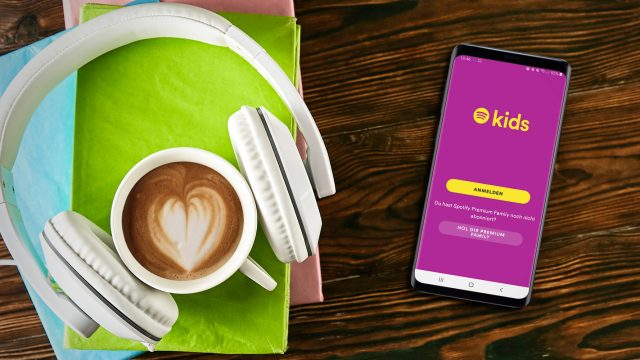 Spotify-Kids-App auf Samsung Galaxy S9+