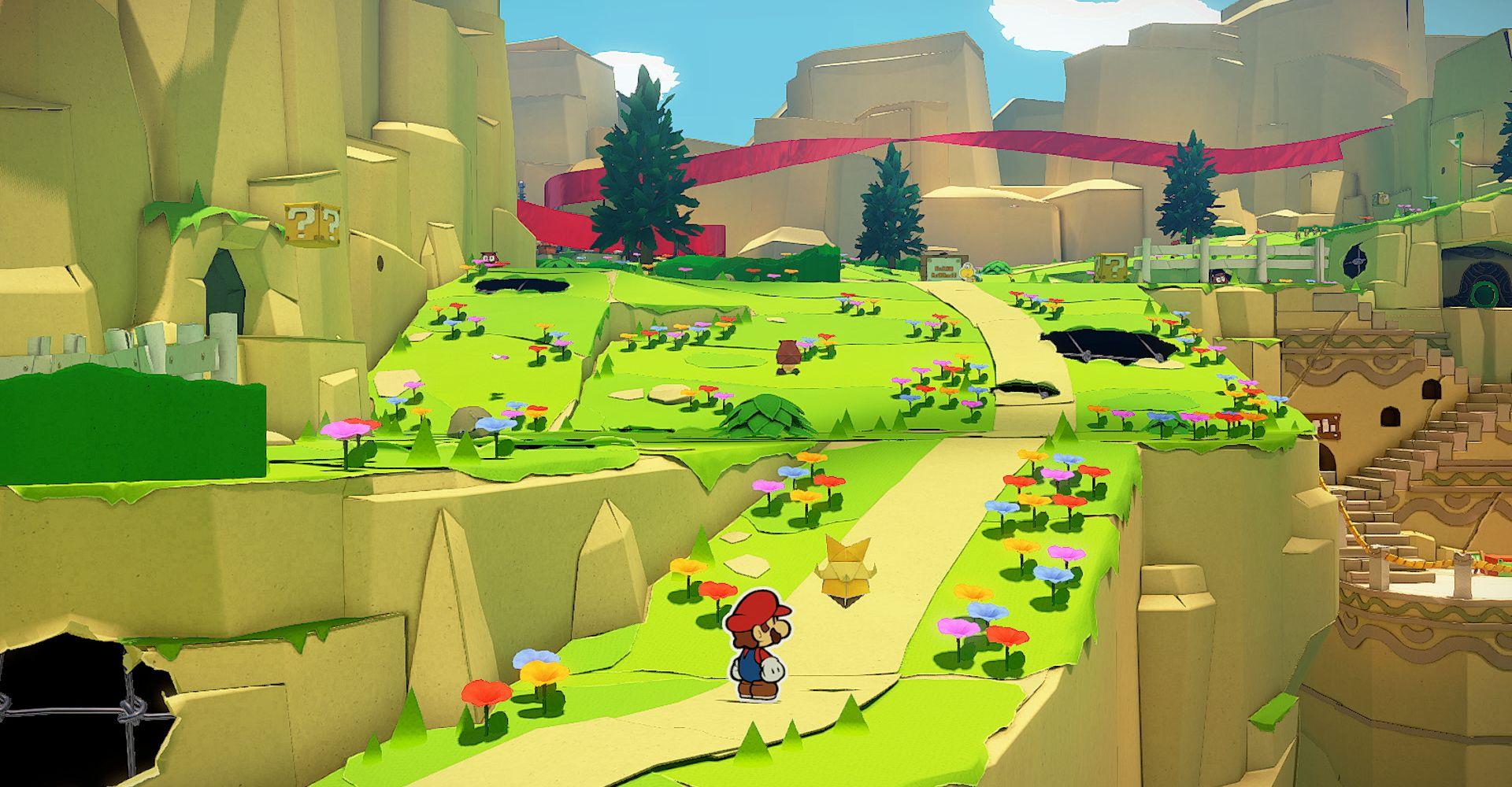 Screenshot von Paper Mario: The Origami King