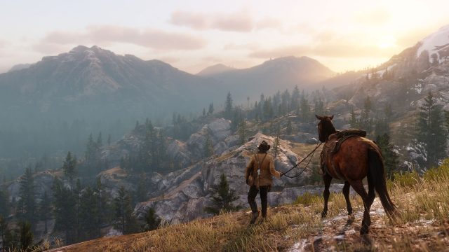 Berglandschaft in Red Dead Redemption