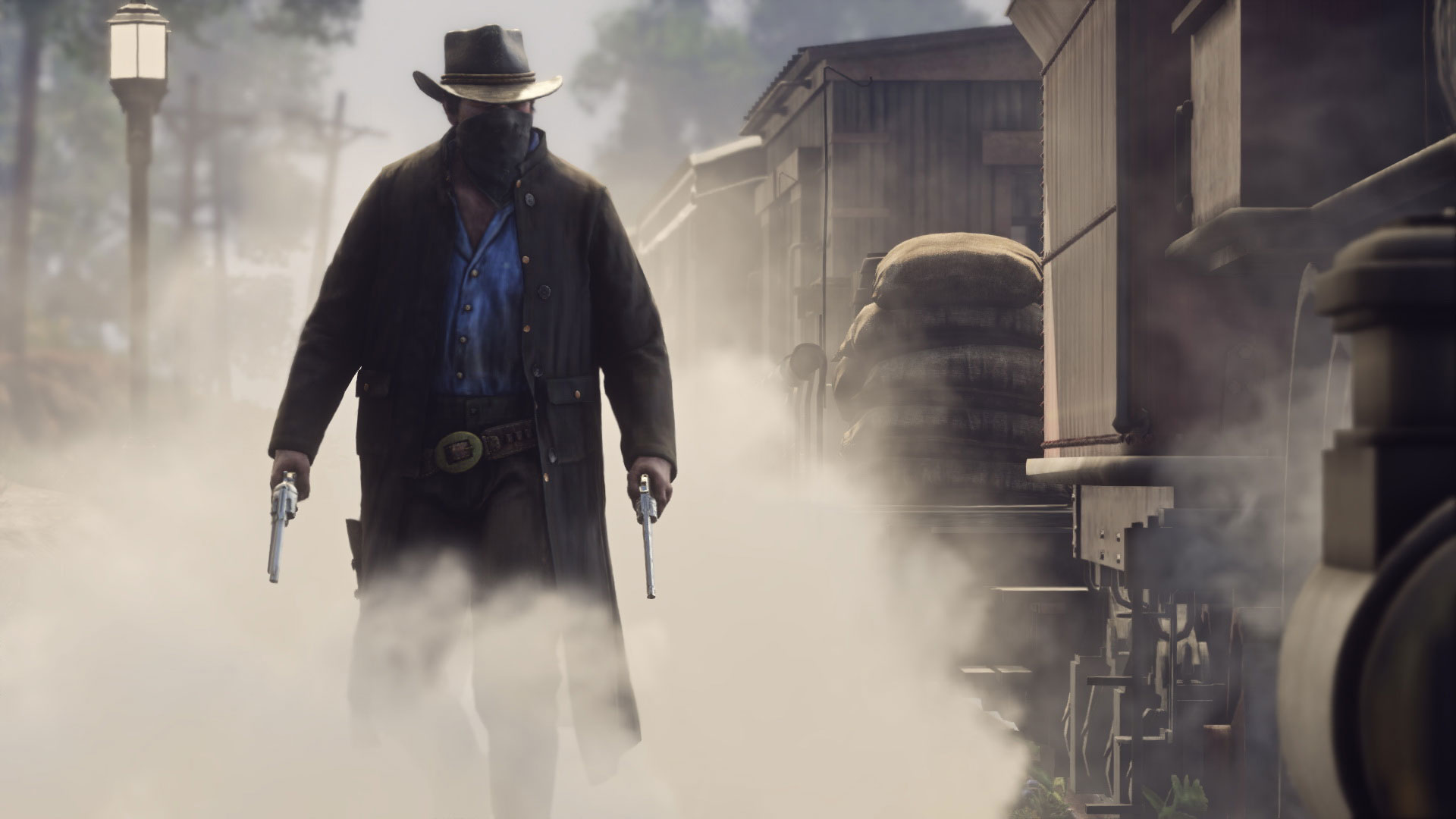 Bewaffneter Bandit in Red Dead Redemption