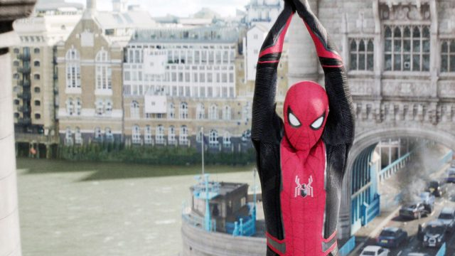 """Sonys Spider-Man in """"Spider Man: Far From Home"""""""