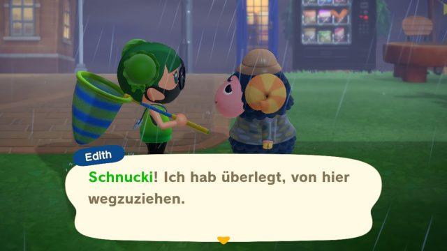 Bewohner in Animal Crossing: New Horizons will ausziehen.