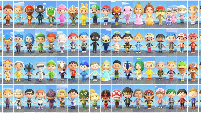 Animal Crossing: Spieler baut sämtliche Super-Smash-Bros.-Figuren nach