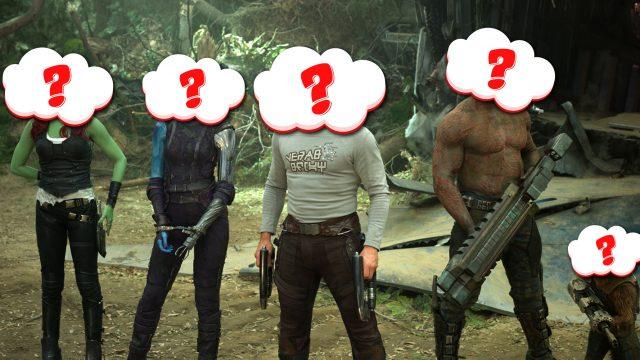 Guardians of the Galaxy Mockup