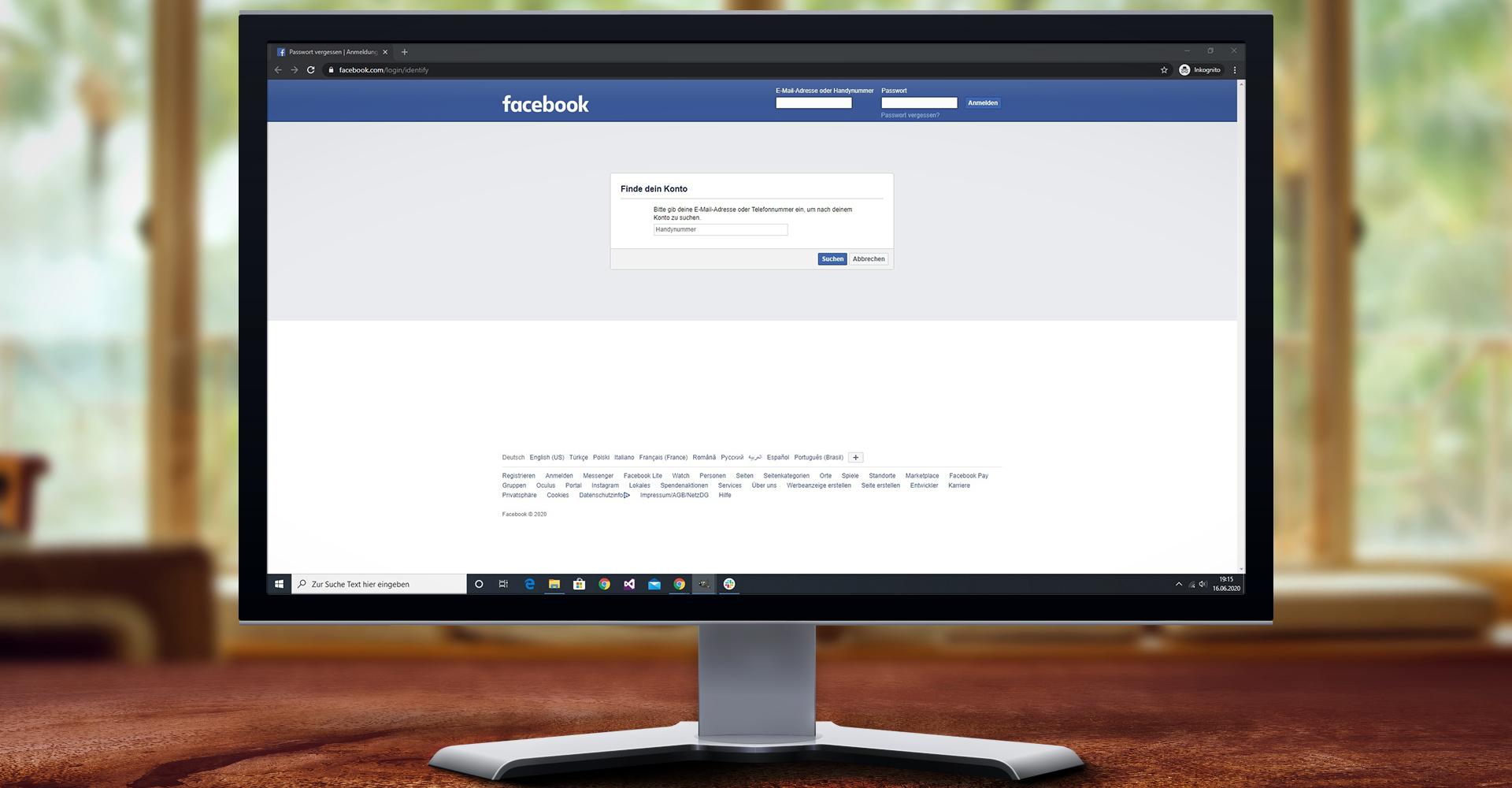 Passwort ändern Bei Facebook