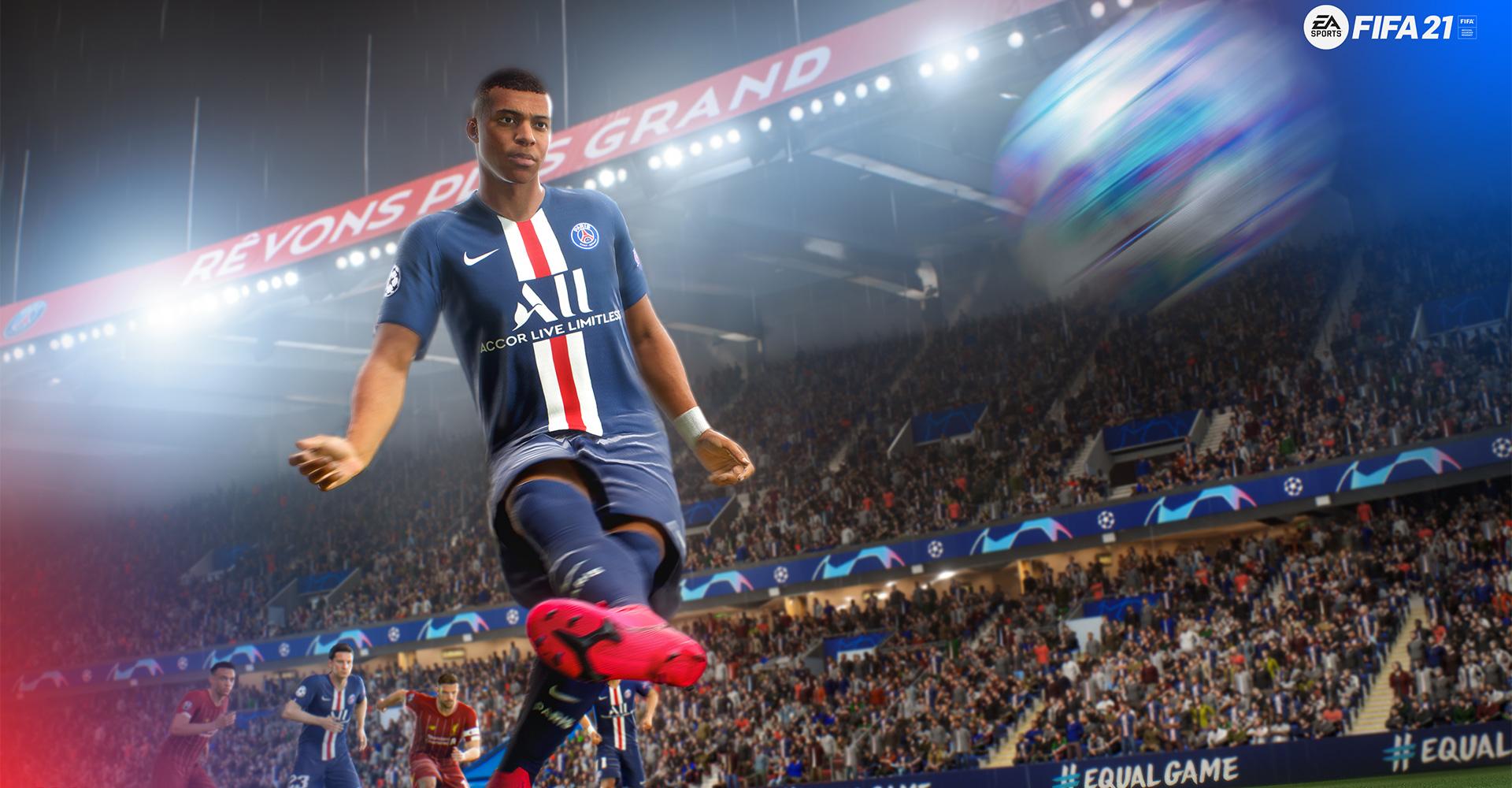 Kylian Mbappé in FIFA 21