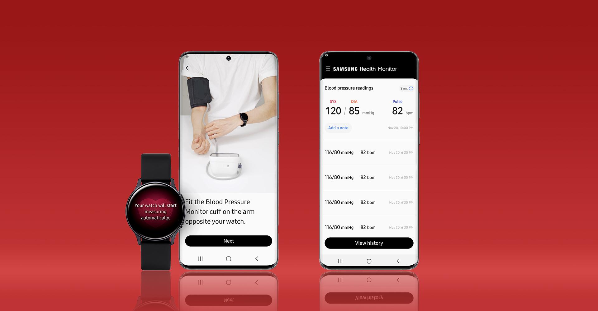 Galaxy Watch Active 2 Samsung Health Monitor App
