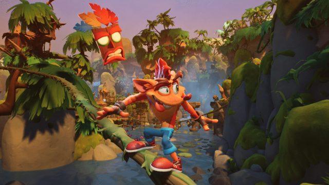 Game-Screenshot aus Crash Bandicoot™ 4: It's About Time