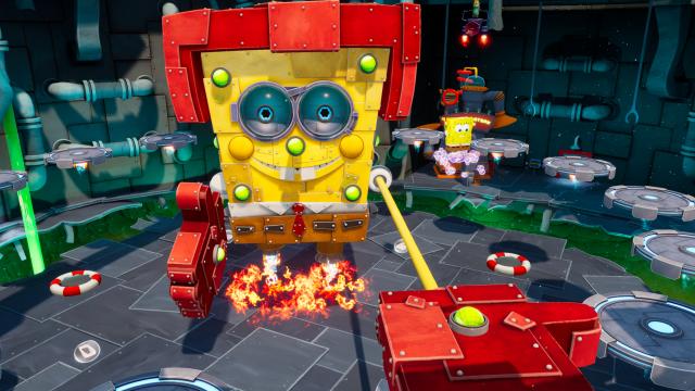 """SpongeBob in """"SpongeBob SchwammKopf: Battle for Bikini Bottom – Rehydrated"""""""