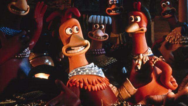 Szene aus Chicken Run