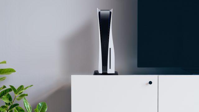 PlayStation 5 im Wohnzimmer