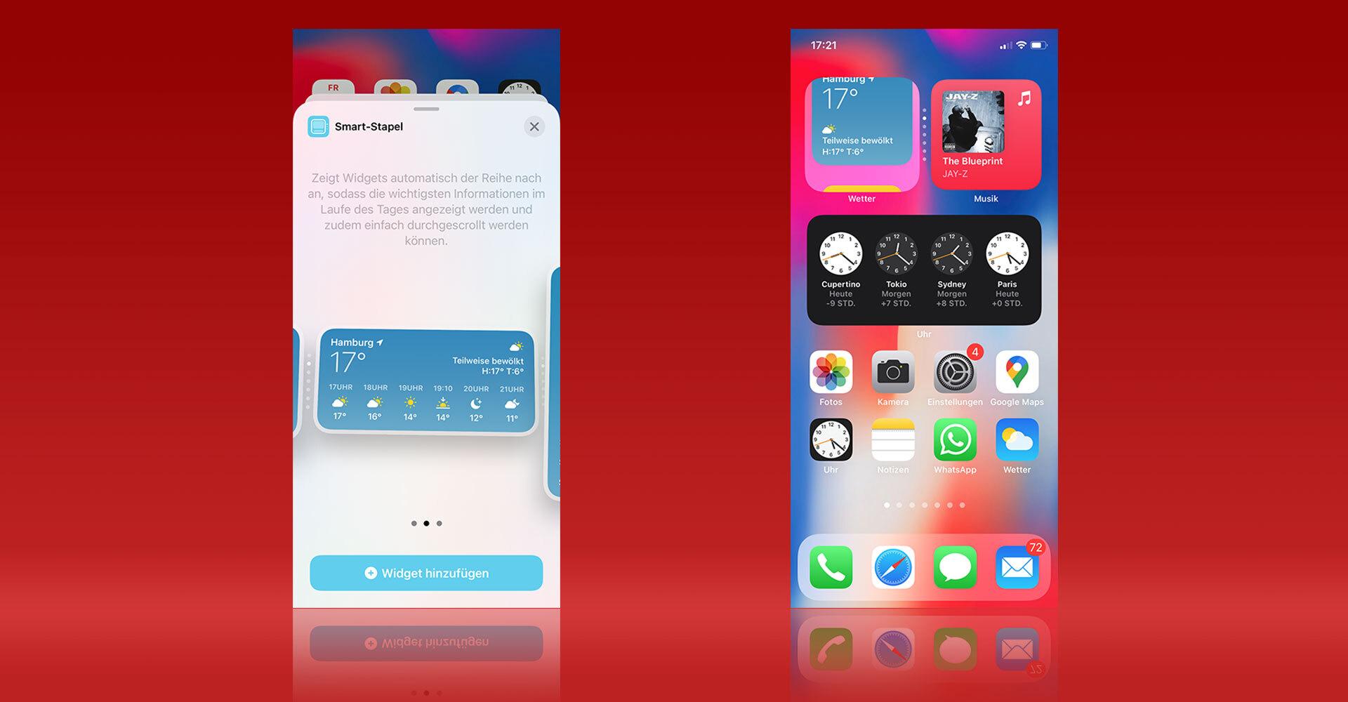 iOS 14: Smart-Stapel