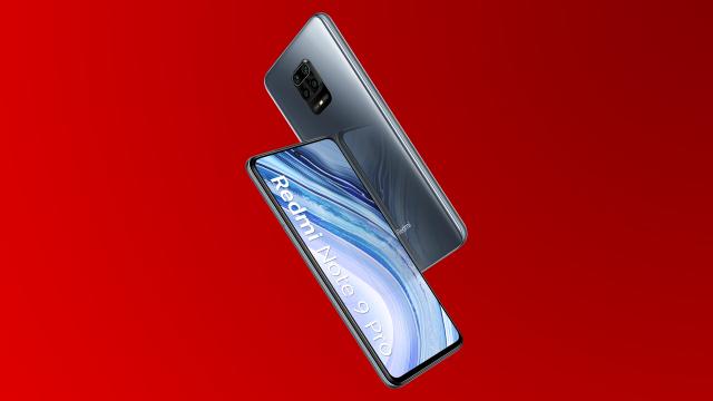 Das Redmi Note 9 Pro von der Vorder- und Rückseite