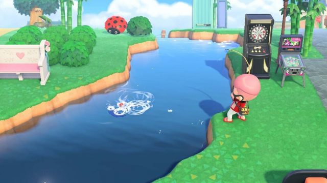 Fischen in Animal Crossing: New Horizons