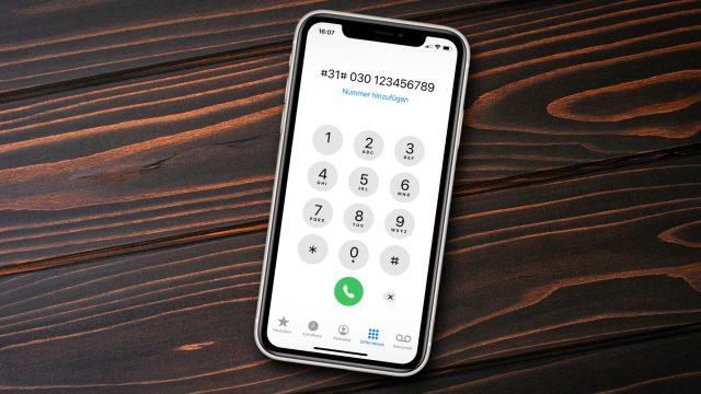 iPhone: So unterdrückst Du eine Nummer