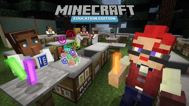 Chemieunterricht in Minecraft