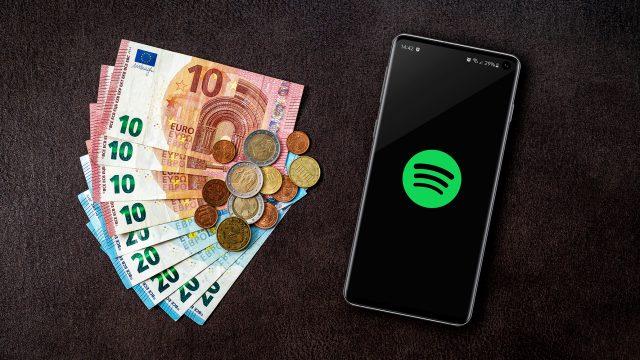 Spotify kostet nur etwas, wenn Du alle Features nutzen möchtest