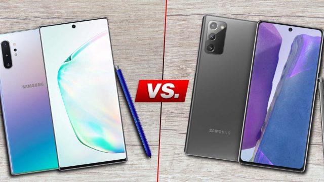 Galaxy Note10 vs. Galaxy Note20: Der Vergleich