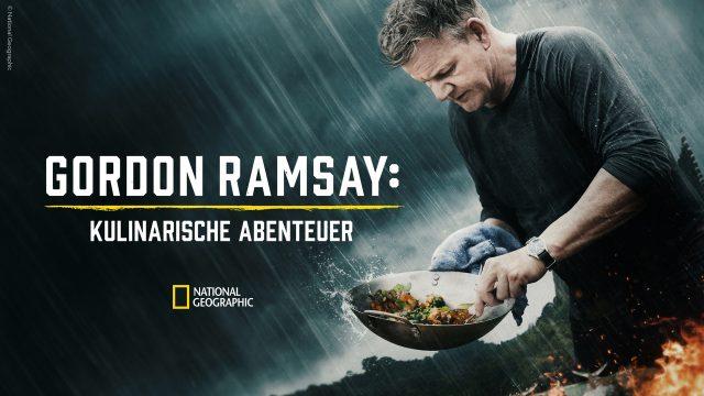 Starkoch Gordon Ramsay kocht im Regen