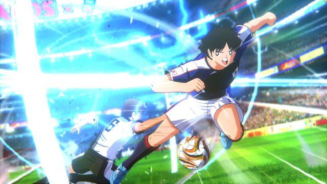 Eine Szene aus dem Spiel Captain Tsubasa Rise of New Champions