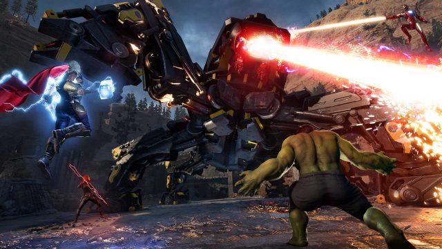 Marvels Avengers Screenshot aus dem Spiel