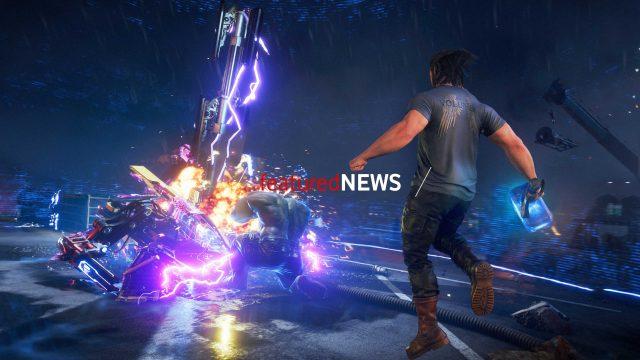 Featured News Thor aus Marvel's Avengers fliegt auf Gegner zu