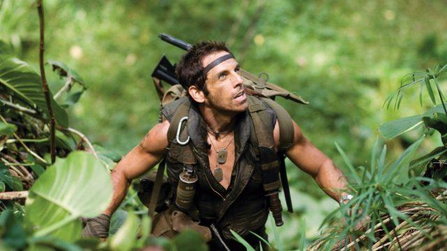 """Ben Stiller in """"Tropic Thunder"""""""