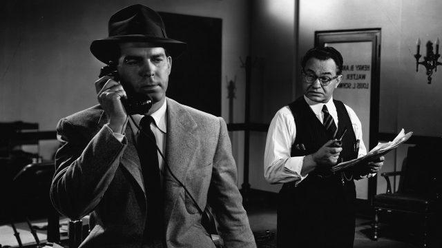 "Film noir ""Frau ohne Gewissen"" mit Fred MacMurray"