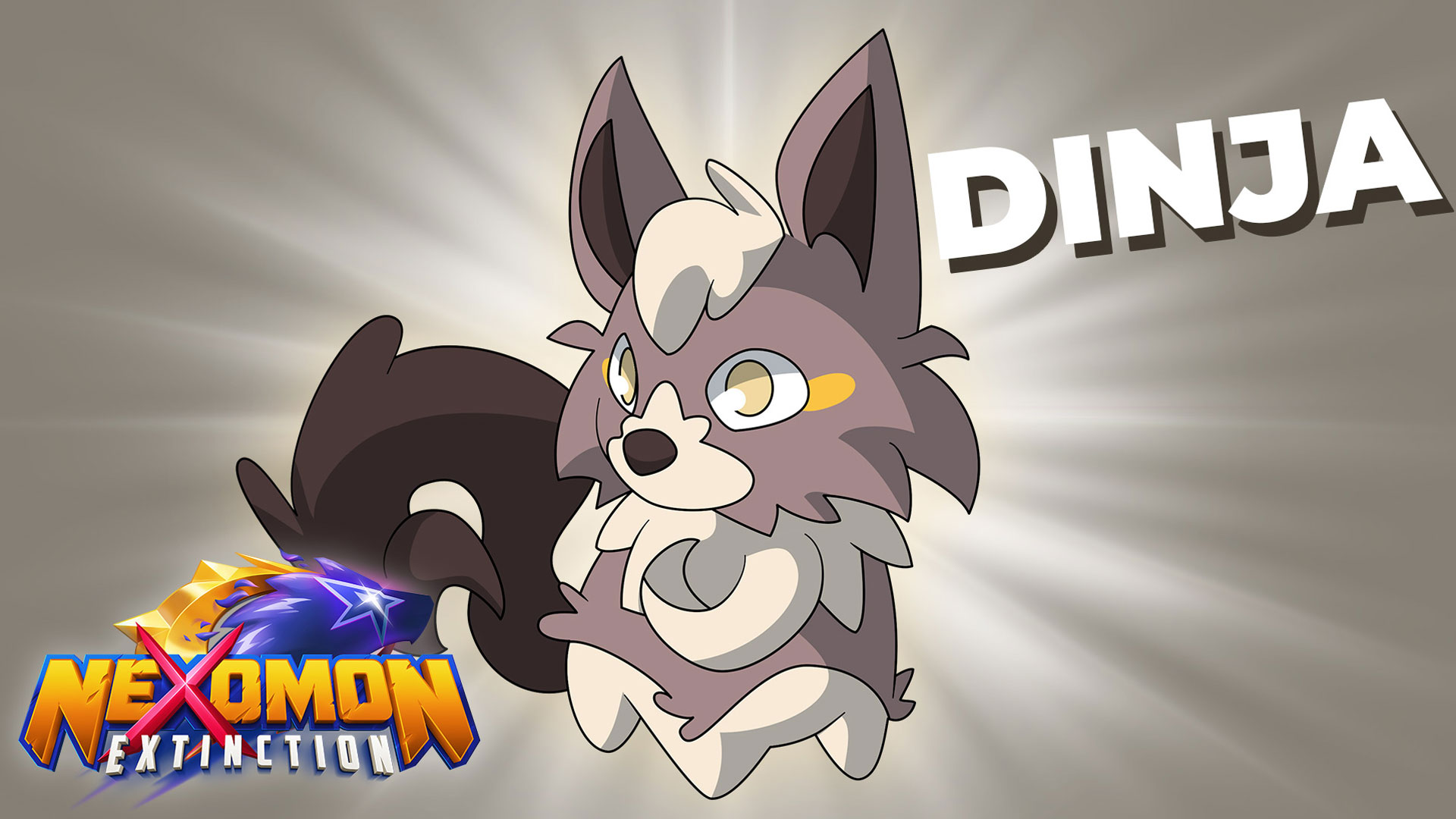 Dinja ist ein der Starter-Nexomon des Spiels Nexomon Extinction