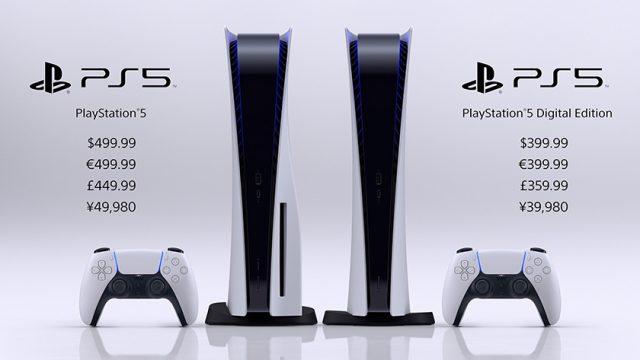 Der Release und die Preise der PS5 sind offiziell