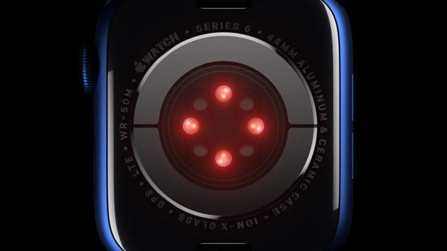 Apple Watch 6 SpO2-Sensor