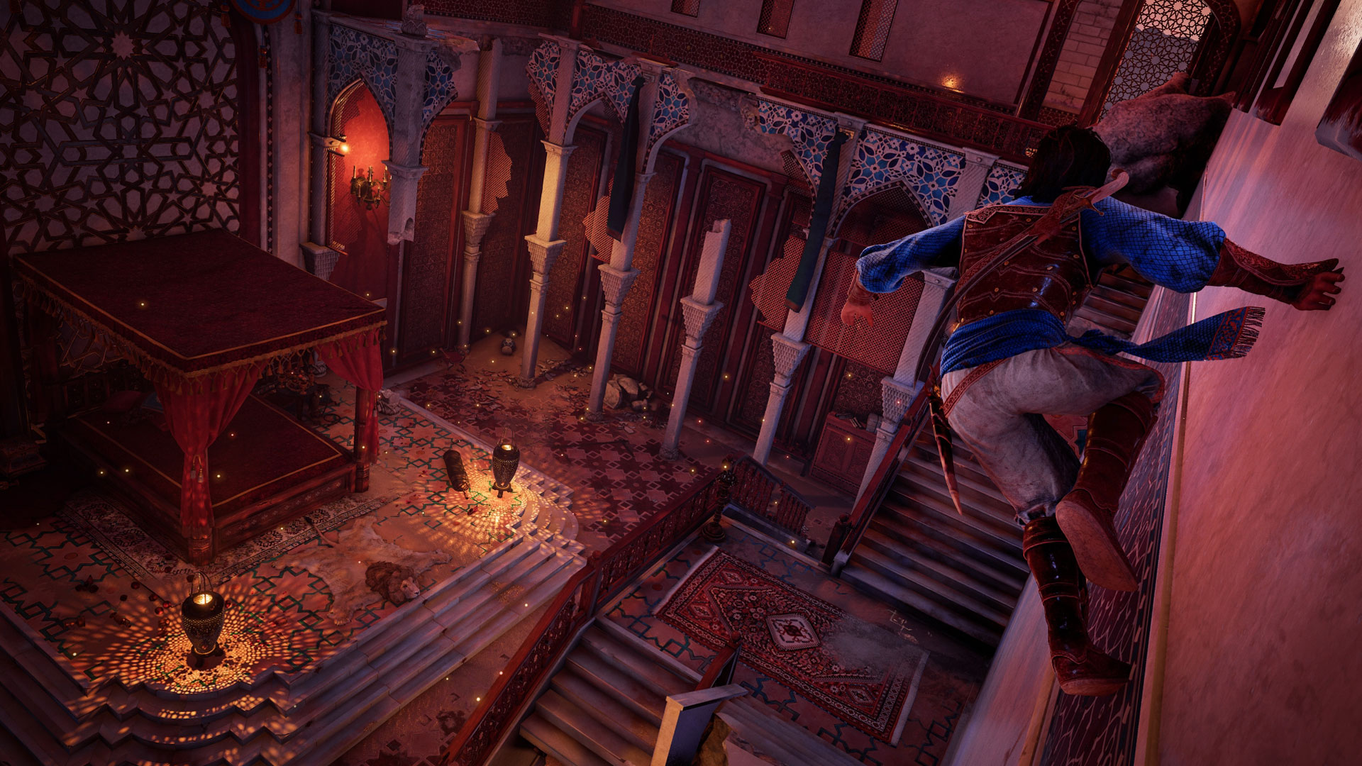 Gameplay Screenshot des Spiels Prince of Persia: The Sands of Time Remake